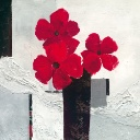Nr. 104 | Red Flower Composition, Henning